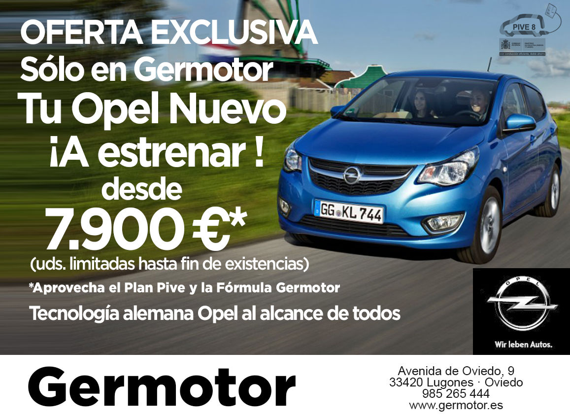 Oferta Exclusiva! Sólo en Germotor!