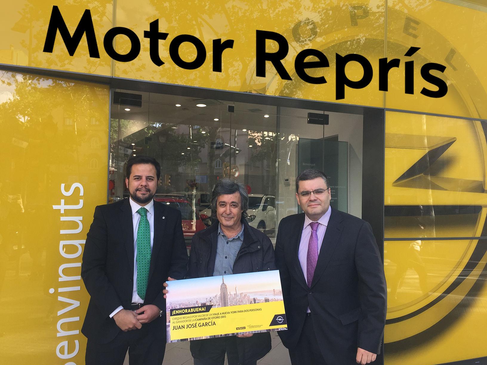 Motor Reprís entrega el Premio de la Campaña de Otoño 2015