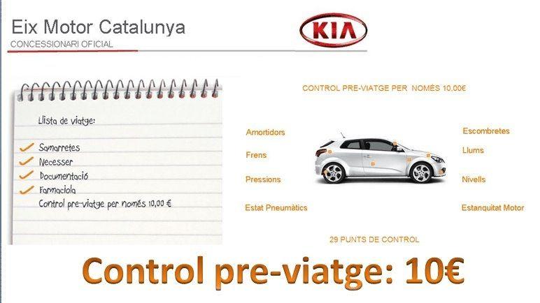 CONTROL PRE-VIATGE