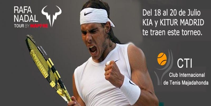 Kitur Madrid te trae el Rafa Nadal Tour by Mapfre