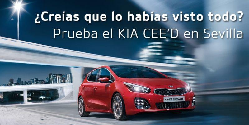 Nuevo KIA CEED, el coche que estás buscando