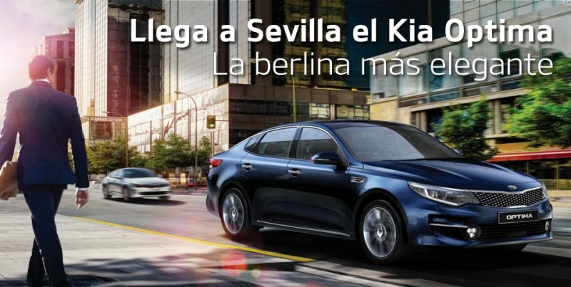 Llega el KIA Optima a Sevilla