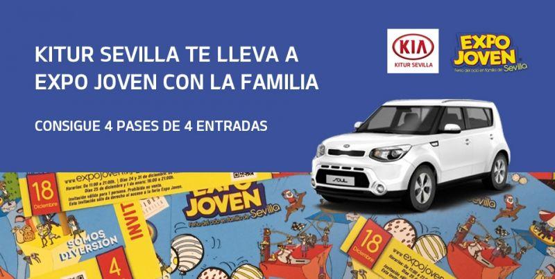 Kitur Sevilla te lleva a Expo Joven con la familia