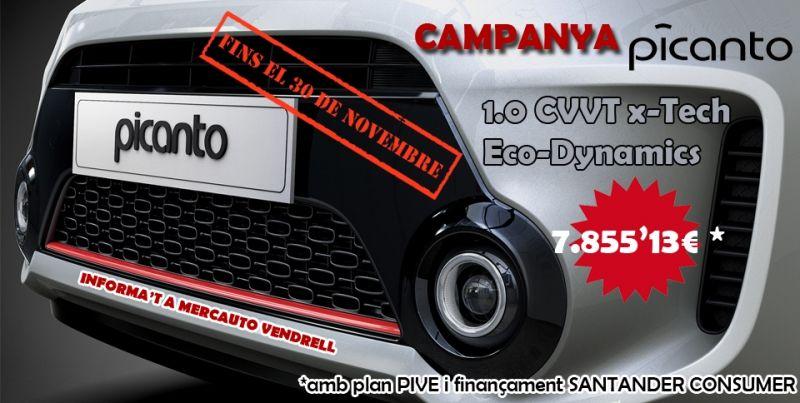 CAMPANYA KIA PICANTO X-TECH Eco-Dynamics