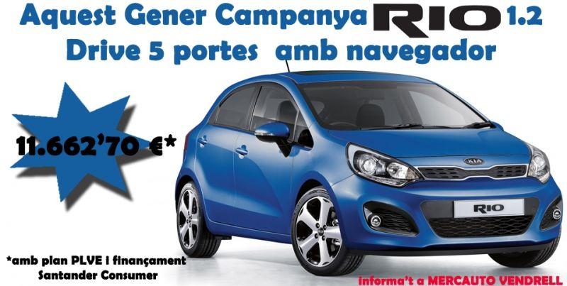 CAMPANYA KIA RIO drive amb NAVEGADOR