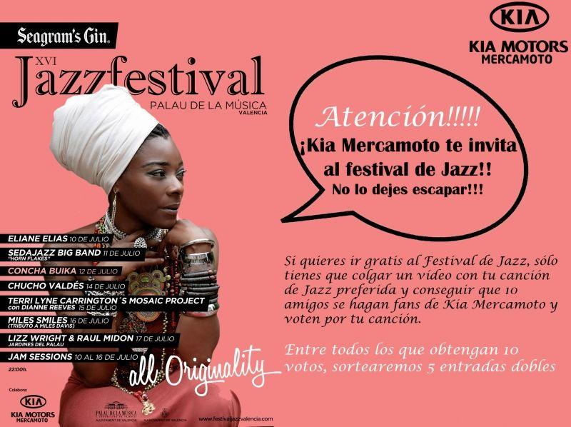 KIA MERCAMOTO CON EL XVI JAZZFESTIVAL VALENCIA 2012