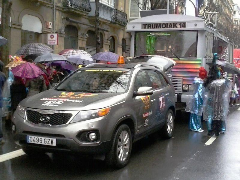 KIA Sorento se viste de NOVOCARnaval