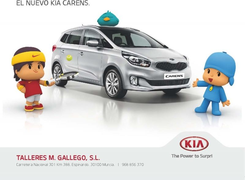 ¡Rafa Nadal y Pocoyó estrenan coche!