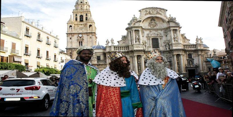 Talleres M. Gallego y los Reyes Magos