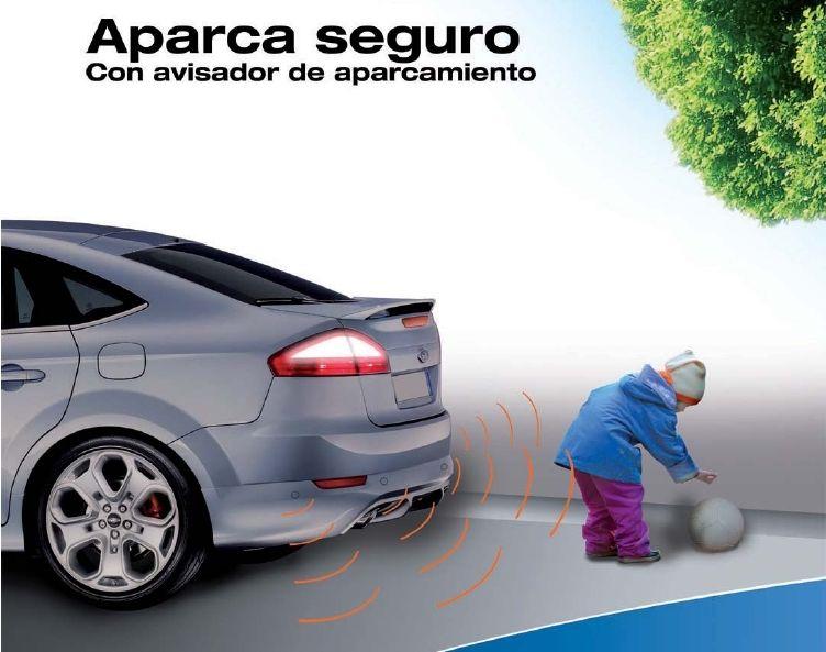 Sensores de aparcamiento gratis al pintar tu coche