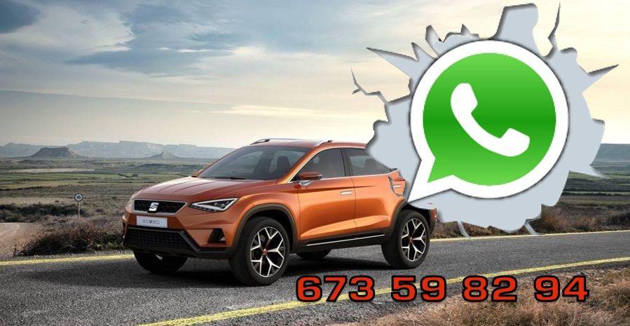 Contacte con nosotros también a través de WhatsApp