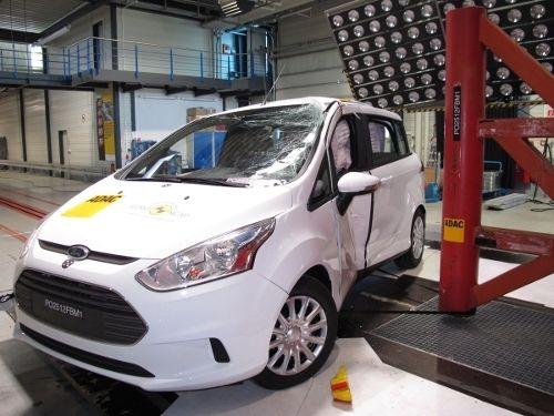 Ford Domina los Premios Euro NCAP 2012; Kuga' Transit Custom y B-MAX son Elegidos Primeras Opciones en Materia de Seguridad