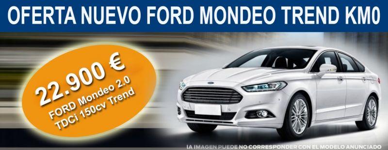 OPORTUNIDAD ÚNICA NUEVO FORD MONDEO 2.0 TDCi 150CV Trend 22.900€