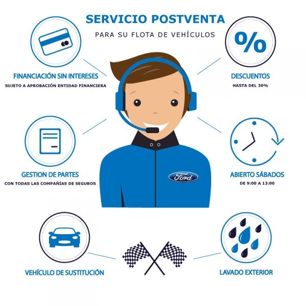 SERVICIO DE POST-VENTA EXCLUSIVO PARA SU FLOTA DE VEHÍCULOS