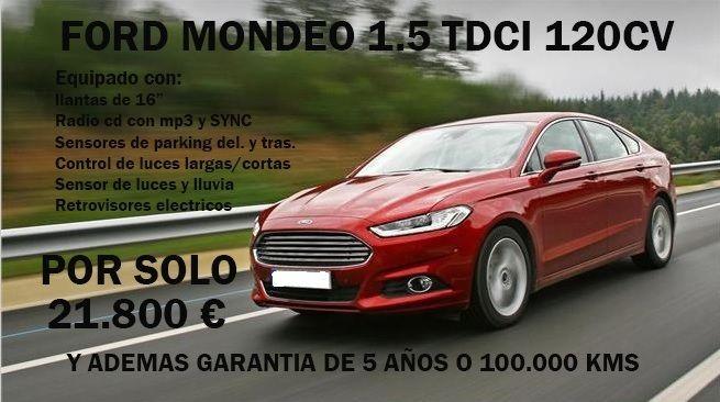FORD MONDEO 1.5 TDCI 120 CV