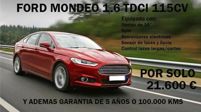 FORD MONDEO 1.6 TDCI 115CV