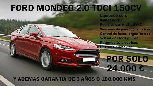 FORD MONDEO 2.0 TDCI 150CV