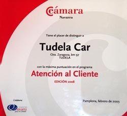 Tudela Car premiado por la atención al cliente