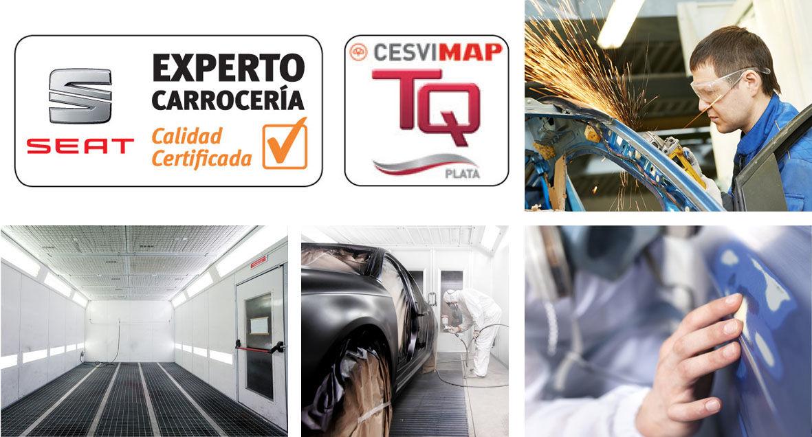 SEAT AUTO NAYOX, TALLER EXPERTO CARROCERÍA SEAT Y CESVIMAP nivel plata