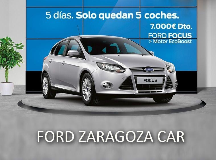 5 FORD FOCUS CON 7.000 € DE DESCUENTO