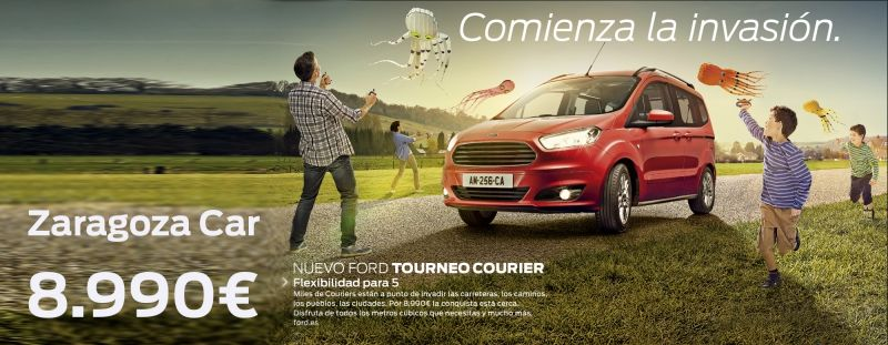 NUEVO FORD TOURNEO COURIER por 8.990€ en Ford Zaragoza Car
