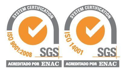 AUTORISA, empresa certificada en la ISO 9001:2008 y la ISO 14001:2004