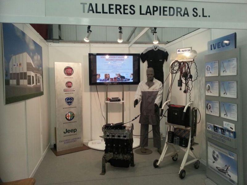 TALLERES LAPIEDRA EN FERMA 2013