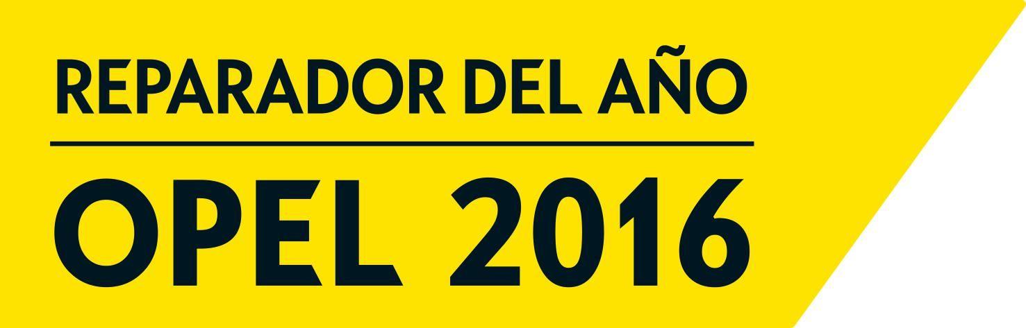 Opel Borjamotor Reparador del Año 2016