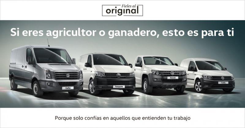 Volkswagen Vehiculos Comerciales con los Agricultores y Ganaderos de Andalucía.