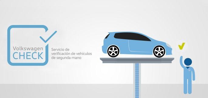 Volkswagen Check, servicio de verificación de vehículos de segunda mano.