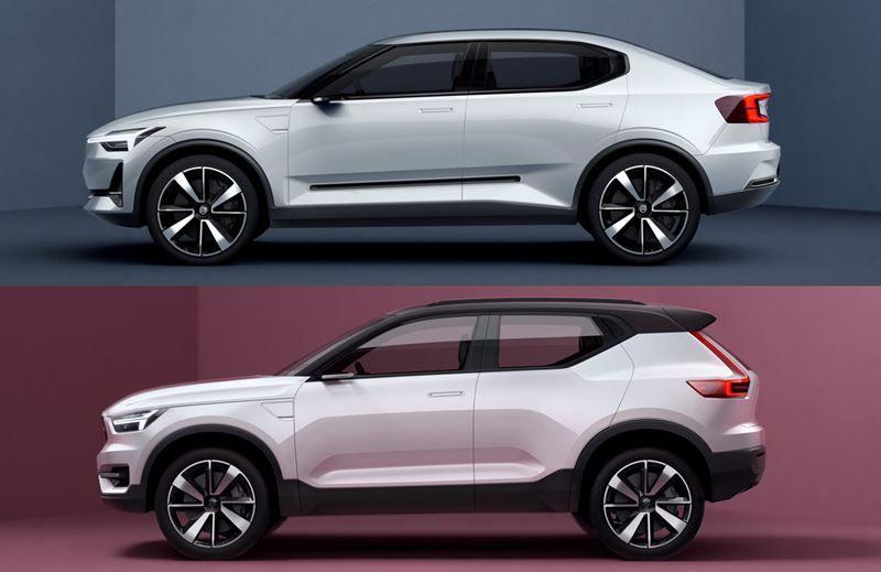 Volvo presenta su nueva gama de vehículos compactos