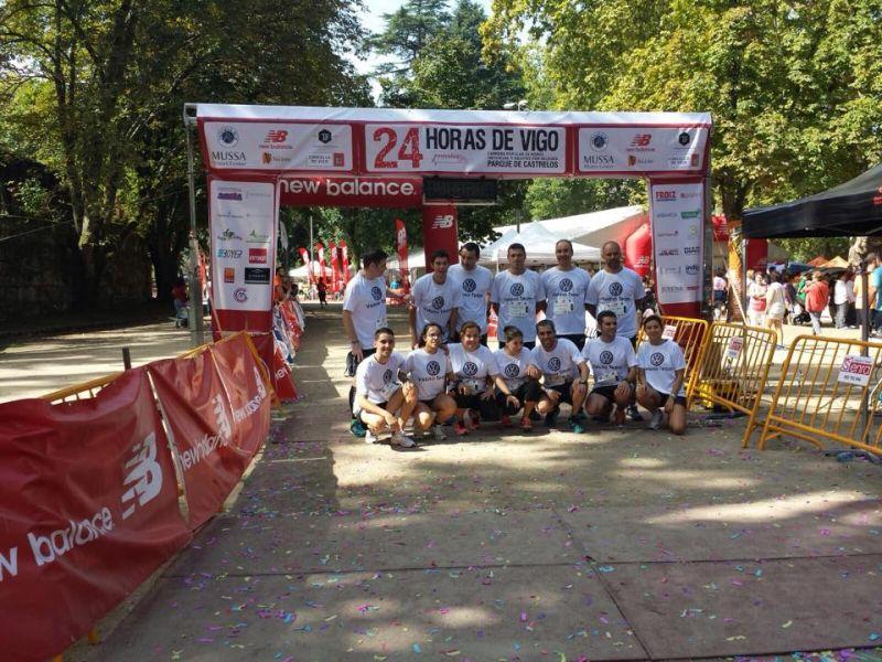 Talleres Veloso patrocina un equipo en la 24Horas de Vigo