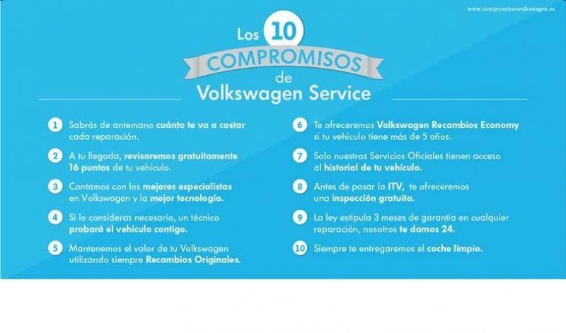 Los 10 compromisos de Volkswagen Service
