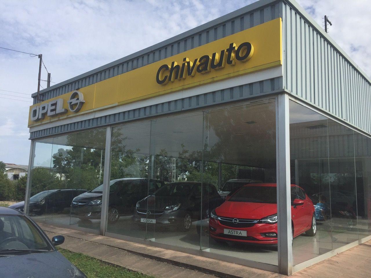GRUPO VARA: 20 aniversario de Opel Chivauto