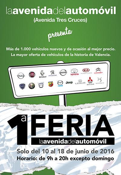 PRIMERA FERIA DE LA AVENIDA DEL AUTOMÓVIL