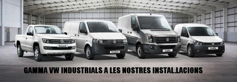 Gama Volkswagen Vehículos Industriales.