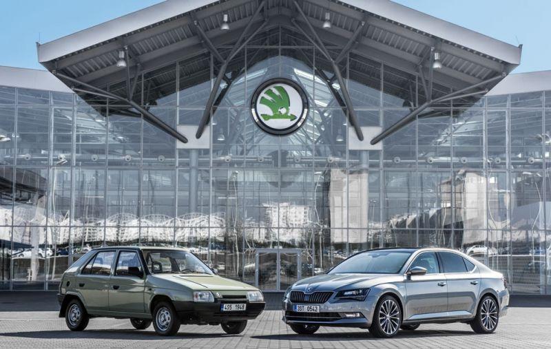 Škoda cumple 25 años junto a Volkswagen