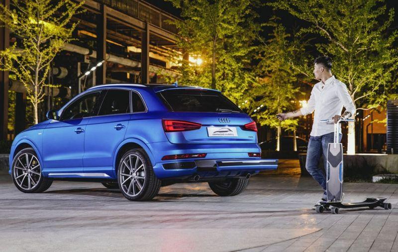 Audi presenta una solución anti atascos