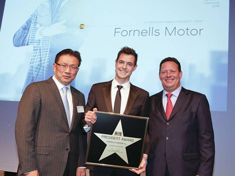 FORNELLS MOTOR - PRESIDENT AWARD