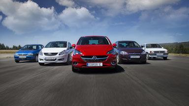 Opel cinco meses liderando el mercado de turismo en España