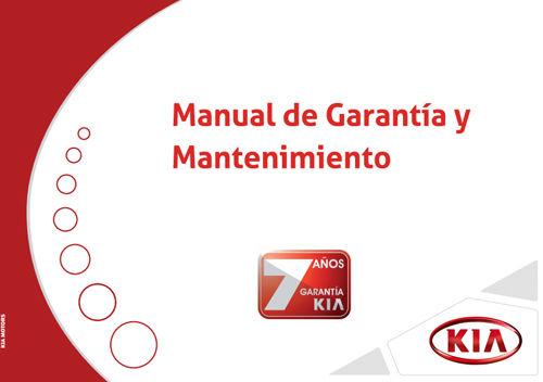 Manual de Garantía y Mantenimiento