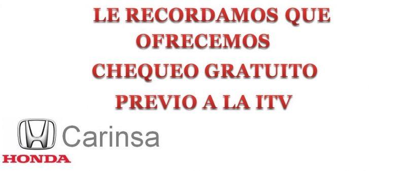 CHEQUEO GRATUITO PREVIO ITV