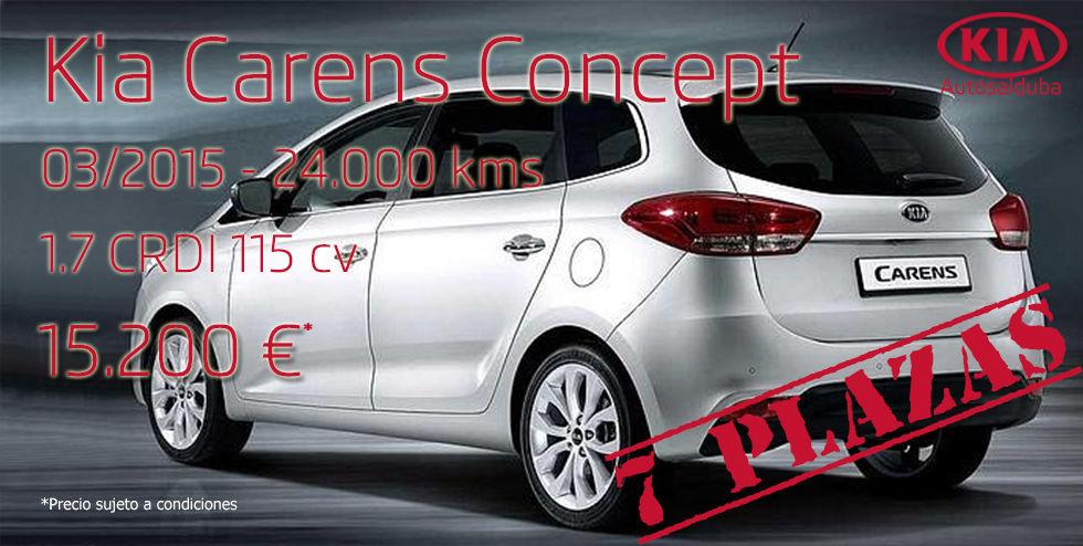 Oferta: Kia Carens 1.7 CRDI 115cv Concept