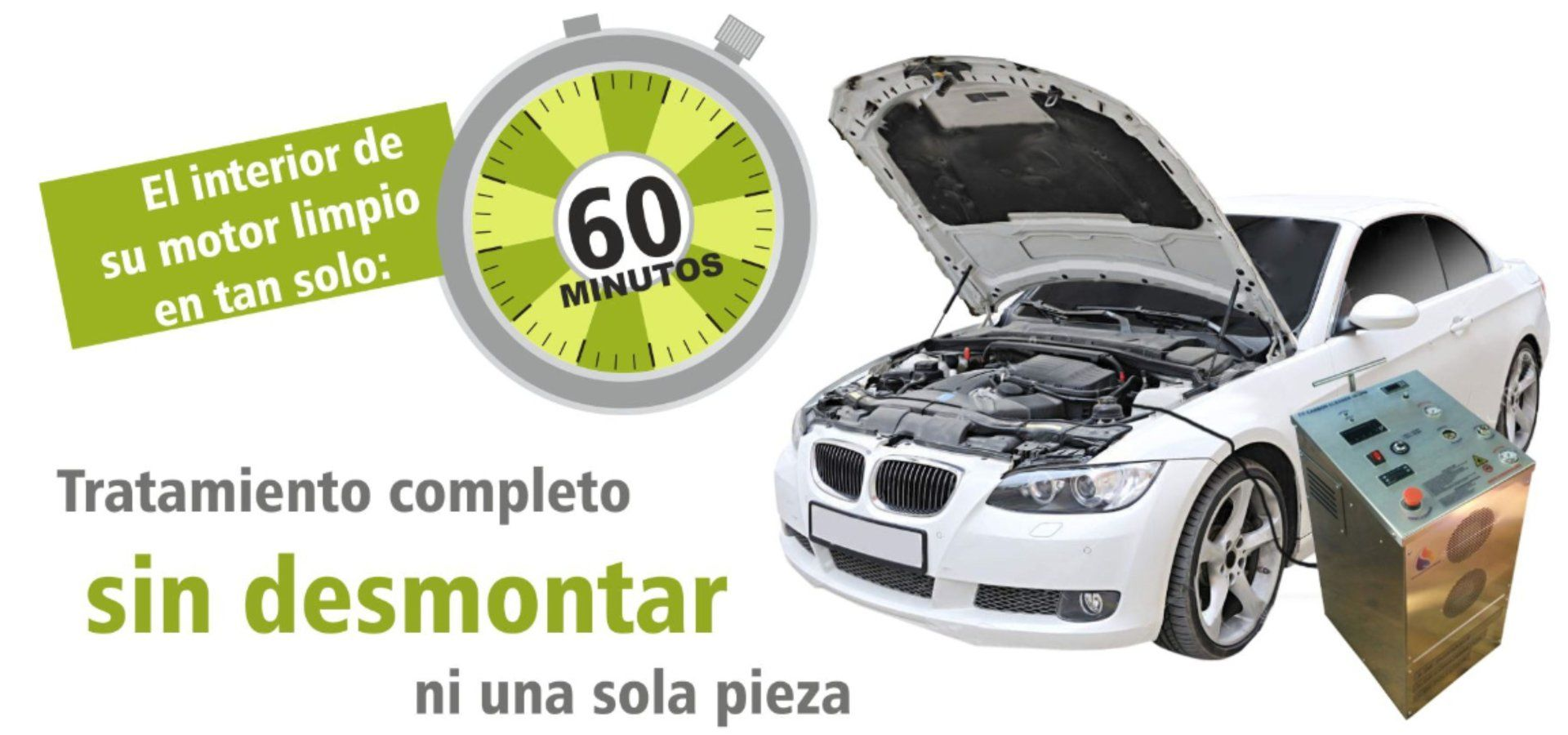 Servicio de Descarbonización Interna del Motor en Hemanos Salvador Basauri , Vizcaya