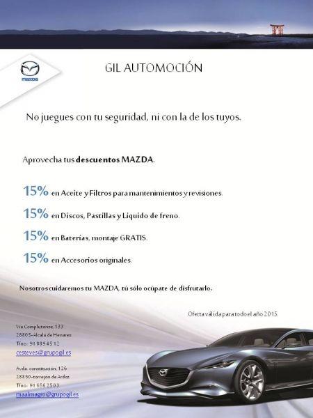 Campaña 15% de Dto. en GIL AUTOMOCIÓN.