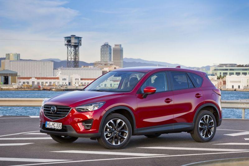 Mazda, pionera en España al ofrecer la frenada automática de emergencia de serie en el Mazda CX-5