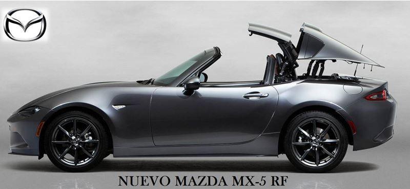 Mazda muestra el nuevo MX-5 RF en el Salón de Nueva York