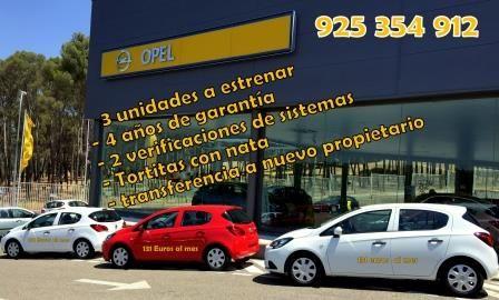 Regalamos estas 3 unidades de Opel corsa