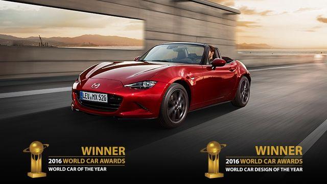 El Mazda MX-5, Coche del Año en el Mundo