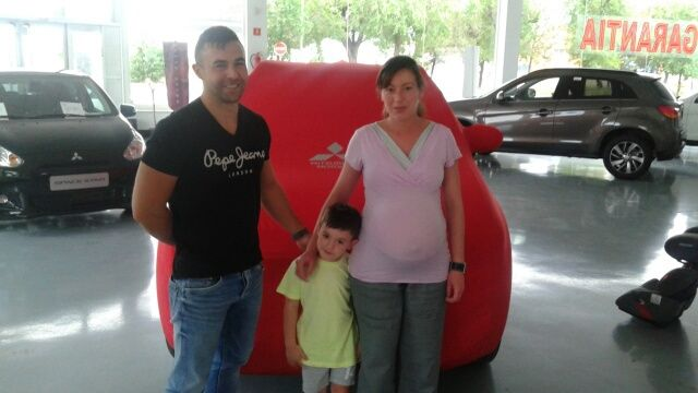 Entrega ASX a Kaiteki a Maria Roman y Angel Macarro